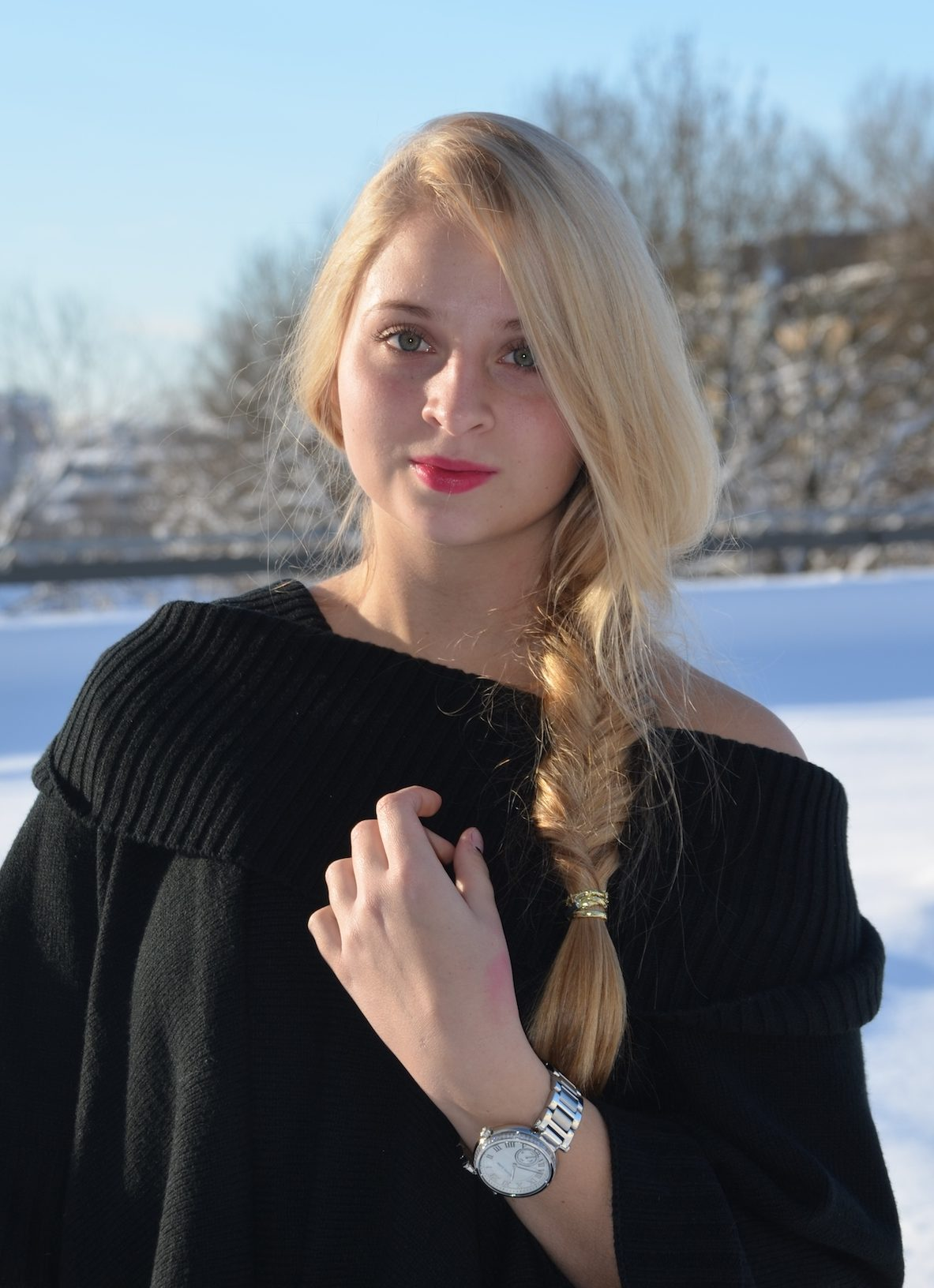 Lisa Schnatz, hair, blonde, modeblog, fashionblog