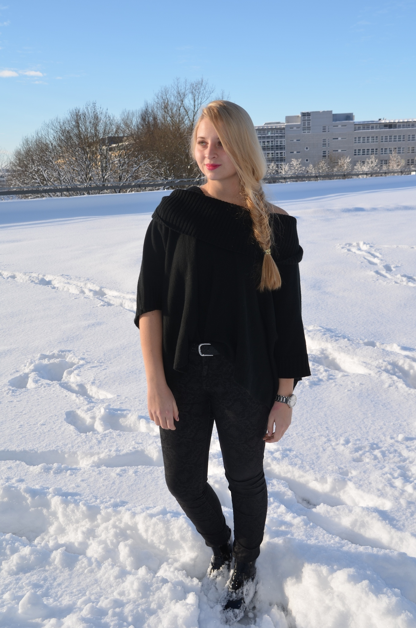Lisa Schnatz, Munich, Blogger, Snow, Sun