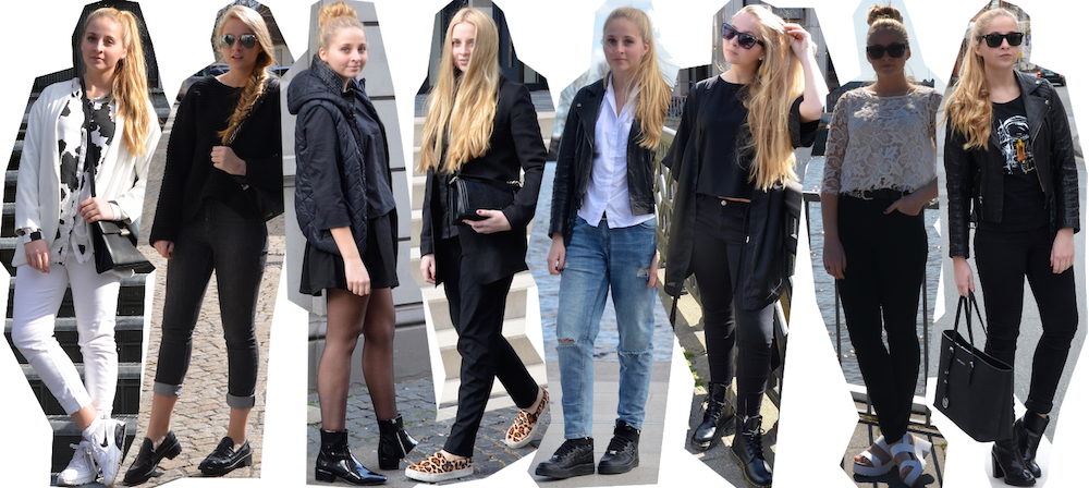Outfits of April