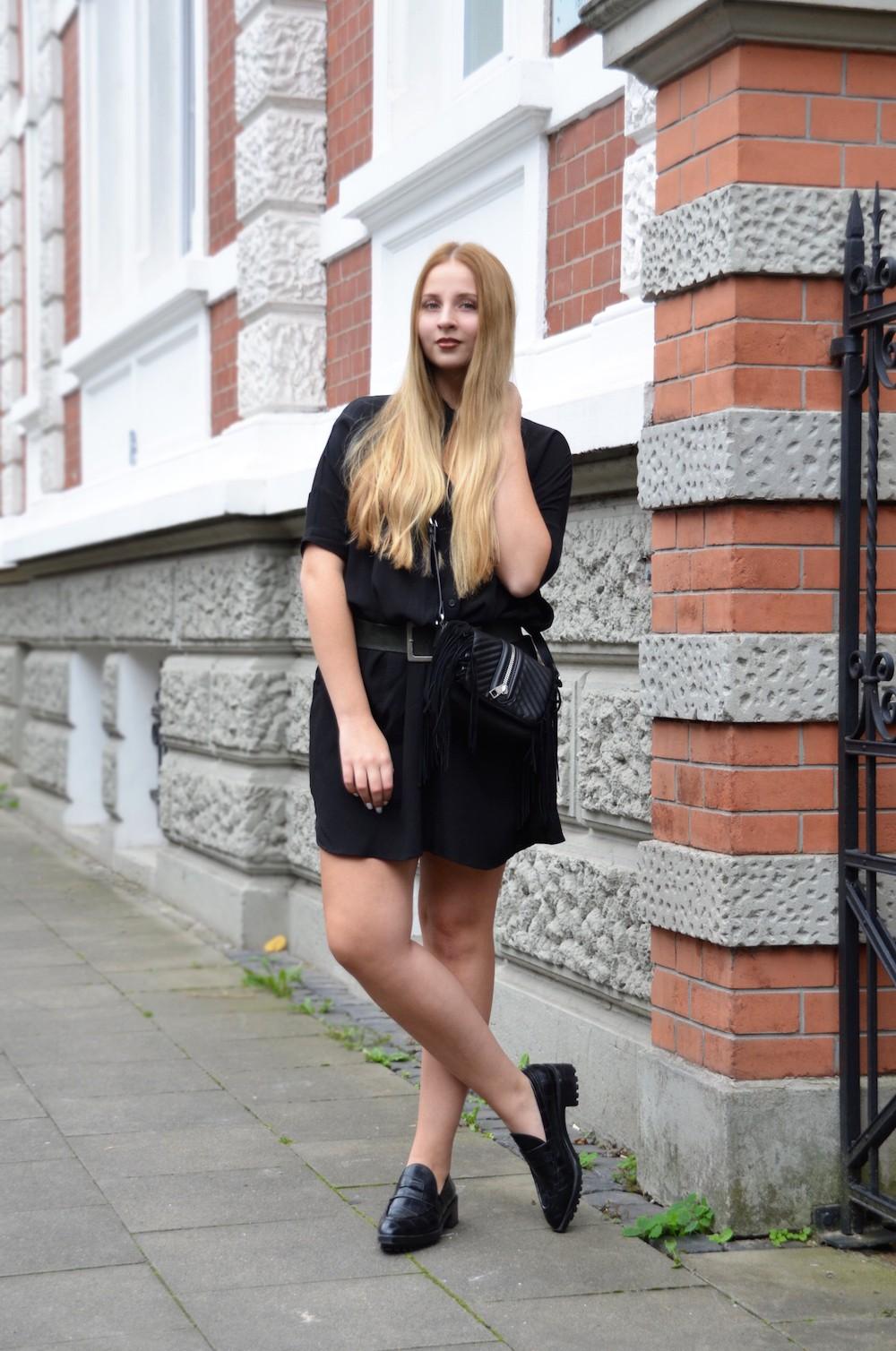 outfit allblack fashionblogger modeblogger Lisa Schnatz