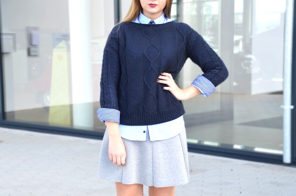 shirt and skirt Lisa Schnatz