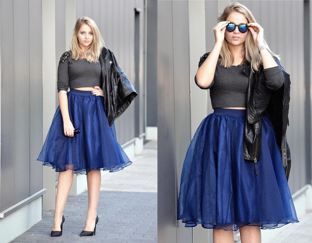 Lisa Schnatz sunnies and skirt