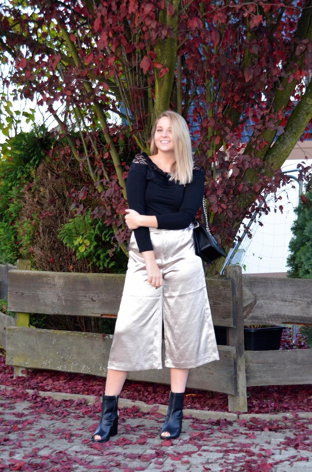 Lisa Schnatz golden culottes