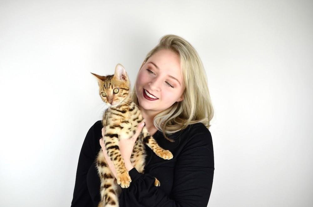 Lisa Schnatz baby kitten