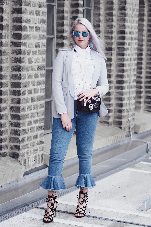 Lisa Schnatz puplum jeans
