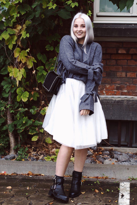 Lisa Schnatz, Modeblog, Fashionblog, boots, skirt, tüll