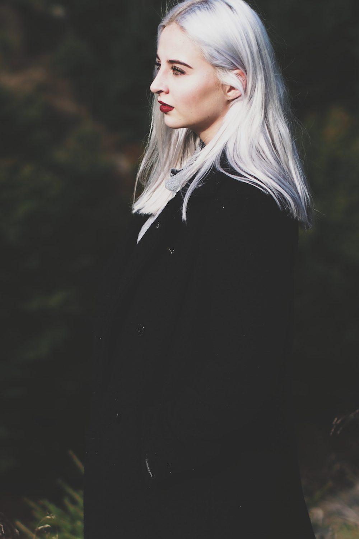 Lisa Schnatz, Modeblog, Fashionblog, Style, silver hair, Blogger