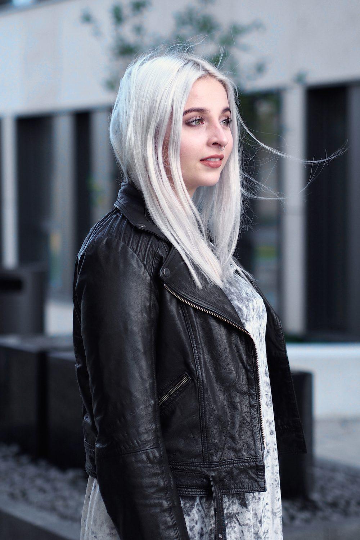 Lisa Schnatz, Modeblog, Fashionblog, Style, Bielefeld, Blogger, silver hair, hair