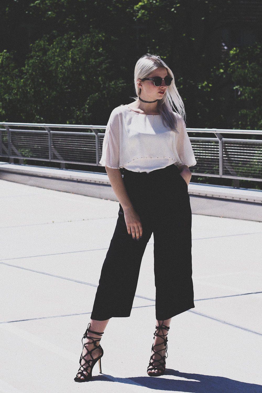 Lisa Schnatz, Lisa Faust, Bielefeld, Culottes, Fashionblog, Outfit