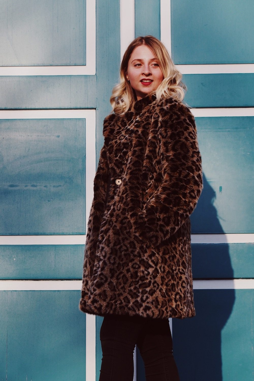 Lisa Schnatz, Leopardenmantel, Modeblog, Bielefeld