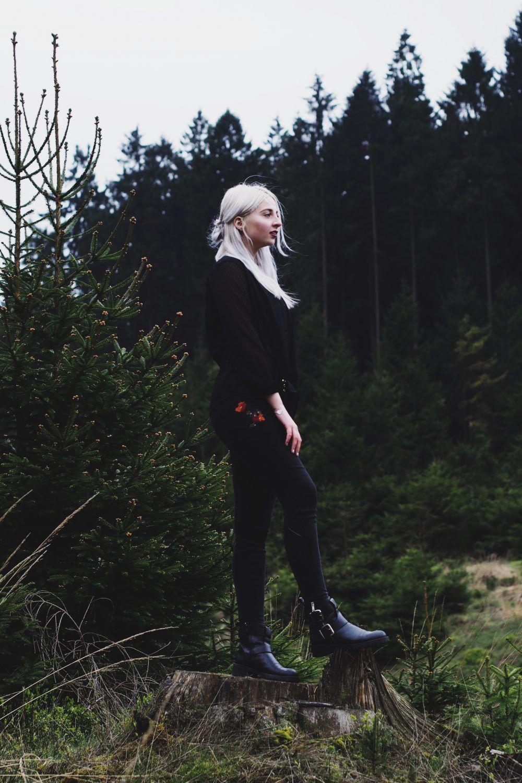 Lisa Schnatz, Modeblog, Bielefeld, Fashionblog, Blogger, wald, nature