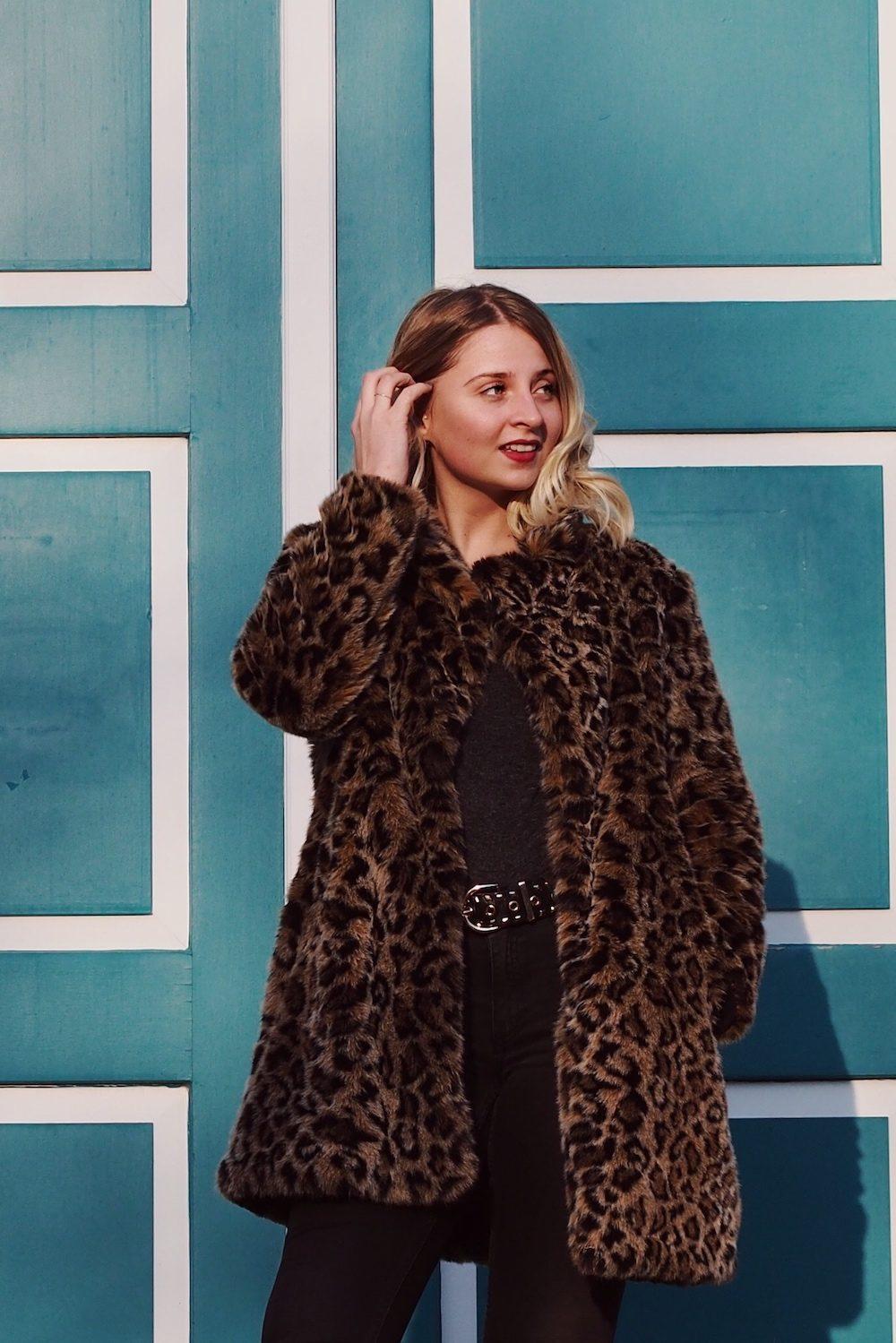 Lisa Schnatz, Leopardenmantel, Leomantel, animalprint