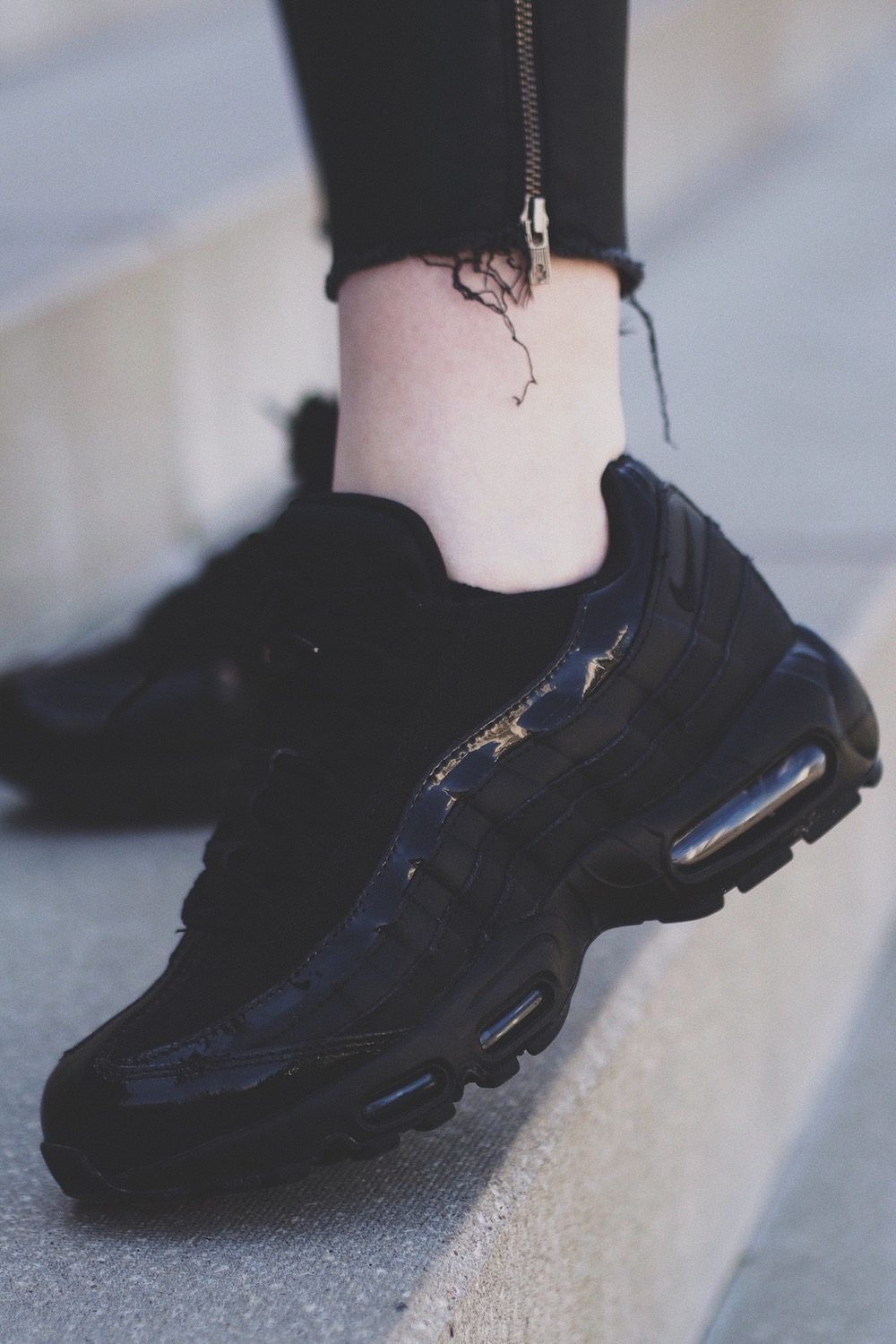 Air Max 95 schwarz outfit