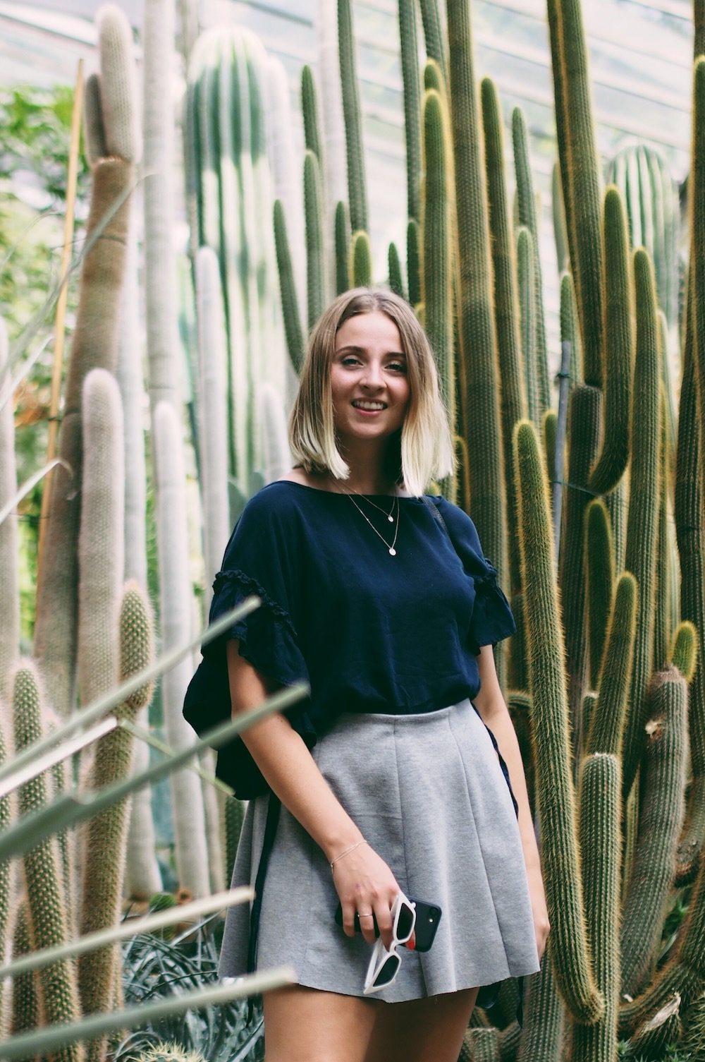 lisa schnatz / planten un blomen / hamburg / fashionblogger